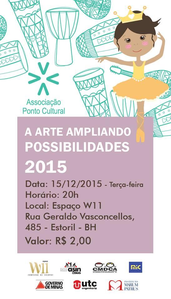 Evento A Arte Ampliando Possibilidades